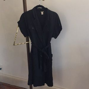 J. Crew belted shirt dress
